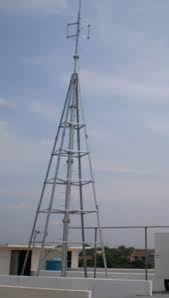 Penangkal Petir Radius System Tiang Tri Angel.. JAKARTA UTARA Telp  : (021) 467 716 66 JAKARTA BARAT Telp  : (021) 365 313 33 JAKARTA SELATAN Telp  : (021) 710 318 81 JAKARTA TIMUR Telp  : (021) 838 106 60