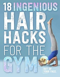 Not all that concerned with cute hair at the gym, but some of these are great for the summer in general!