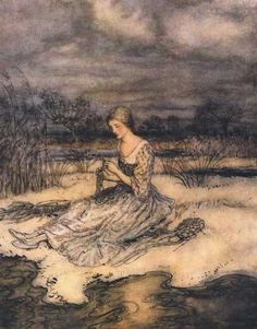 donkeyskin | cap o rushes tale similar to donkey skin by arthur rackham ...
