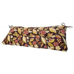 Greendale Home Fashions Indoor/Outdoor Swing/Bench Cushion Outdoor Cushions And Pillows, Bench Cushions, Dana Point, Home Fashion, Indoor Outdoor, House Styles, Floral, Red, Pattern