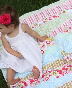DIY: Baby Rag Quilt