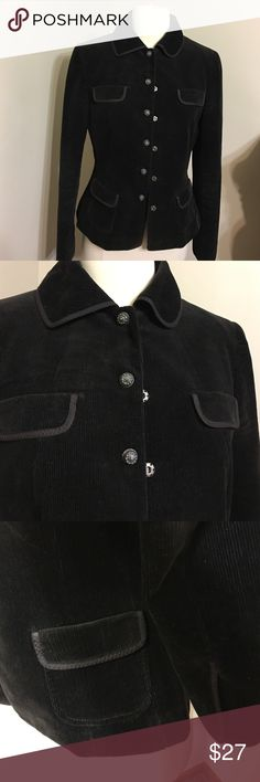 ELIE TAHARI Dark Brown Cute Jacket Size 19 Preowned in excellent condition,like new . 100%Cotton Made in Filipino Size 10 -Fitsbto Size 8' Elie Tahari Jackets & Coats