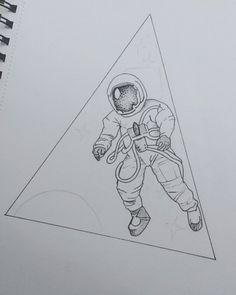 Fresh WTFDotworkTattoo Find Fresh from the Web  in progress! #astronaut #space…