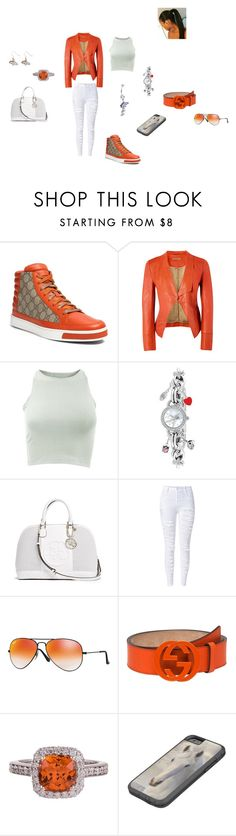 """DENVER LOVE"" by theultrafighter ❤ liked on Polyvore featuring Gucci, Richards Radcliffe, American Apparel, Game Time, GUESS, Ray-Ban and aminco"