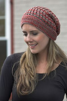 Ravelry: F350 Lace Slouch Hat pattern by Vanessa Ewing