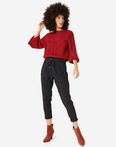 Delírios Cotidianos: Dicas de moda e beleza : 6 inspirações de looks para arrasar na balada Jogging, Jeans Casual, Skinny, Converse All Star, Casual Looks, Ideias Fashion, Harem Pants, Capri Pants, Elegant