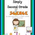 Simply Second Grade Science is an 80 page download of science activities that are aligned with the following Common Core State Standards for 2nd gr...$16.00