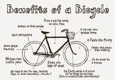 benefits of a bicycle - Google Search