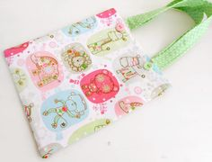 Children's Tote Bag by picocrafts on Etsy, $10.50