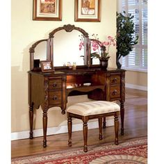 Dressing table for the Master Bedroom