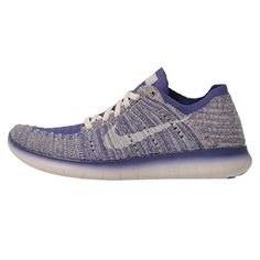 new concept 833ad 2ac70 Nike Kids Free RN Flyknit GS Running Shoes 45Y Blue -- For more information,
