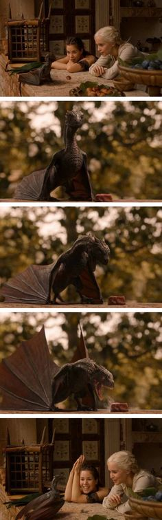 I want one. It's like a fire-breathing puppy.