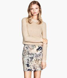 H&M+Patterned+Skirt+$29.95