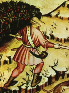 37-svaghi cacciaTaccuino Sanitatis Casanatense 4182 cacciatore. - 1300–1400 in European fashion - Wikipedia, the free encyclopedia