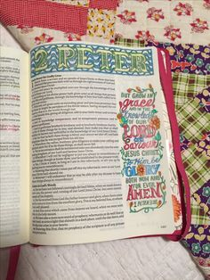 My Creative Bible journaling, I'm learning which pencils work best!
