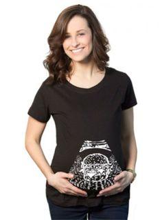 1e8ecb63b Crazy Dog T-shirts Maternity Ultrasound Ice Cream Pregnancy AnnouncemenT-shirt  PregnanT-shirt