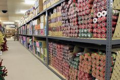 """Rows & Rows of Poly Deco Mesh, Burlap & Deco Mesh Accessories at the lowest prices. Creative Gift Packaging. Get """"Creative"""" Today!"""