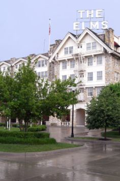 Excelsior Springs - Elms Resort and Spa - It is noted by many that the lap pool area in the basement of the hotel is haunted. It is noted that a female figure, is walking around looking for her child. She has a tendency to get a little upset, so she will pull your hair, or throw something across the room.