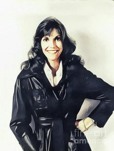 Painting - Karen Carpenter, Music Legend by John Springfield , Richard Carpenter, Karen Carpenter, Karen Richards, Her Brother, Comic Character, Classic Rock, American Singers, Wonder Woman, Superhero