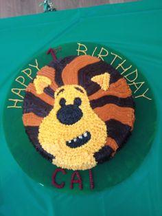 Raa Raa cake Lion Cakes, Cake Ideas, Birthday Cake, Baking, Tv, Desserts, Kids, Food, Tailgate Desserts