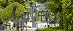 simple and elegant glass house