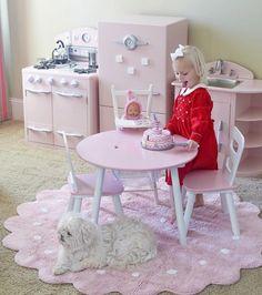 Washable Rug Galletita Pink / Alfombra lavable Galletita Rosa Lorena Canals