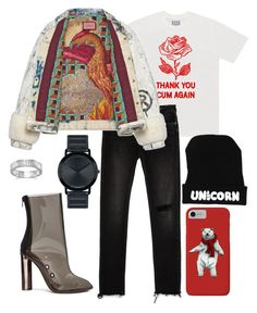 """""""Untitled #1434"""" by artiola-fejza ❤ liked on Polyvore featuring Zara, Gucci, Movado, BillyTheTree and adidas"""