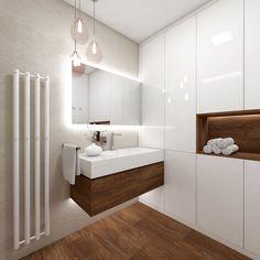 Architect Katka Petkovšek; bathroom design for privat investor