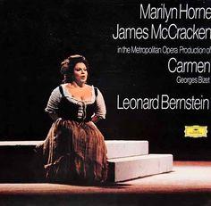 Bizet: Carmen - Horne, McCracken, Krauss - Leonard Bernstein, Metropolitan Opera, DG 2709 043, 1973 - Mint, German Pressing