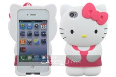 An Original Hello Kitty 3D Case for iPhone 4S