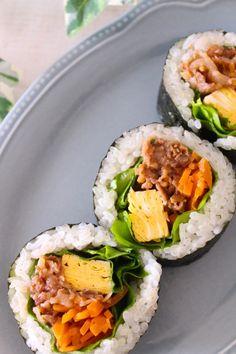 Clean Recipes, Cooking Recipes, Healthy Recipes, Healthy Food, Cute Food, Yummy Food, Sushi Co, Onigirazu, Bento Recipes