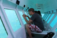 Roatan Glass Bottom Boat