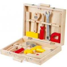 Janod Bricolo Tool Kit from The Toy Centre UK