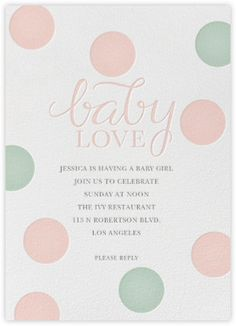 Baby Shower - Paperless Post