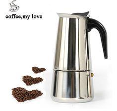 300ML coffee pot Inoxpran's supplier Hot Sale 6cup High quality Moka coffee maker,Express coffee pot