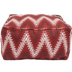 Samoa Square Beanbag, John Robshaw - I want to make something like this for Sylvester to lay on in the living room. $225