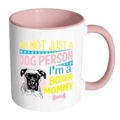 Boxer Dog Mug Funny Boxer Coffee Mug Boxer Gifts It Was A Ruff
