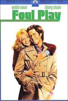 Foul Play (1978) - Goldie Hawn, Chevy Chase & Burgess Meredith - A shy San Francisco librarian and a bumbling cop fall in love as they solve a crime involving albinos, dwarves, and the Catholic Church.