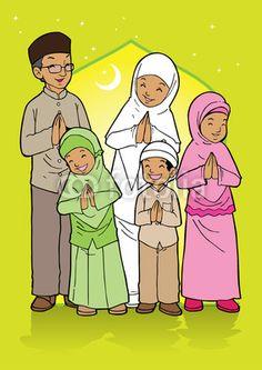 Selamat Hari Raya Idul Fitri Kartun : selamat, fitri, kartun, Muhammad, (abetaminullah), Profile, Pinterest