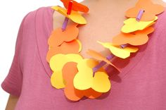 wikiHow to Make a Paper Lei -- via wikiHow.com