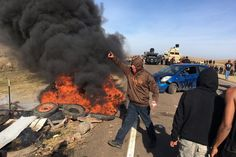 Over 100 Held in Crackdown on Pipeline Protesters in North Dakota - NYTimes.com