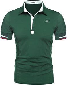 HOTOUCH Herren Poloshirt Polohemd Slim Fit Hemd Polo Shirt Kurzarm: Amazon.de: Bekleidung Slim Fit, Shirts, Mens Fashion, Amazon, Fitness, Mens Tops, Clothing, Moda Masculina, Man Fashion