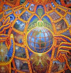 alex grey | Alex Grey – The Artist of The Universe More here ~ http://artblanketsonline.com/collections/surreal-artwork-by-alex-grey-meditation-art-blankets