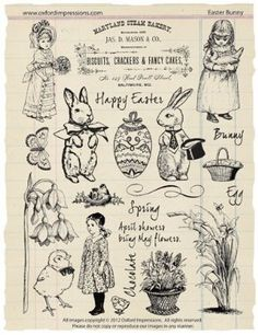 Oxford Impressions Rubber Stamps
