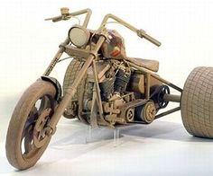 Chris Gilmour--made of cardboard