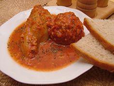 recepty.netCabinet:Plnená paprika v paradajkovej,rajčinovej,rajčiakovej omáčke.Stuffed pepper in tomato sauce.Plněná paprika v rajčatové omáčce.