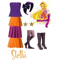 Winx Club: Stella Season 5 Casual Outfit