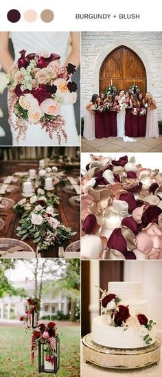 rustic burgundy and blush wedding color ideas fall wedding corsage / fall wedding boutineers / fall wedding burgundy / wedding fall / wedding colors Burgundy And Blush Wedding, Burgundy Wedding Colors, Burgundy Color, Burgundy Flowers, Wedding Blush, Wedding Color Schemes Fall Rustic, Wedding Color Palettes, Burgundy Bouquet, Unique Wedding Colors