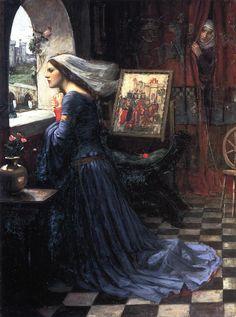 Fair Rosamund  John William Waterhouse