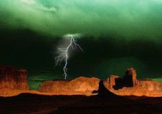 STORMS & LIGHTNING! GRAND CANYON GREEN CLOUD !!!